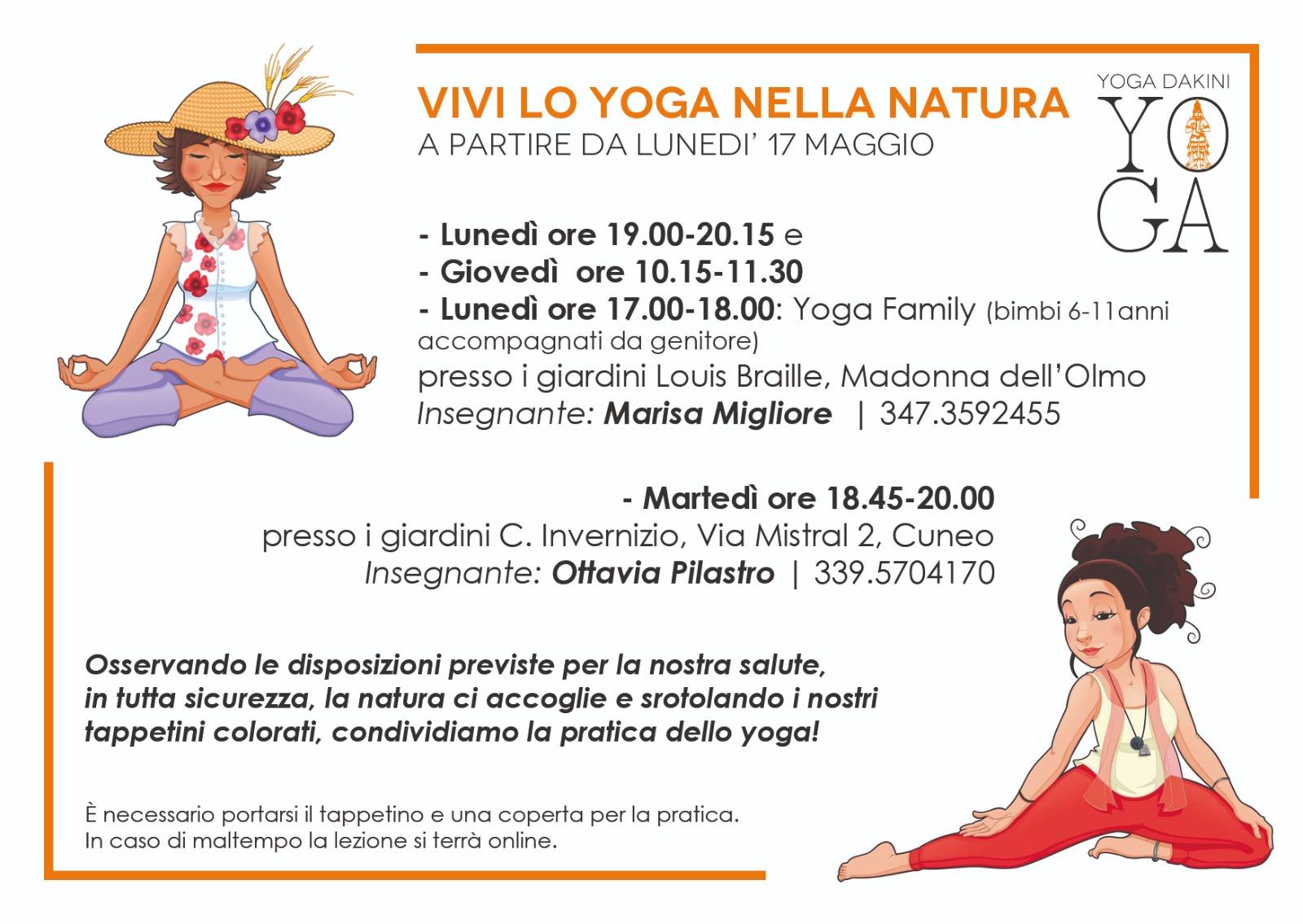 Vivi lo Yoga nella Natura