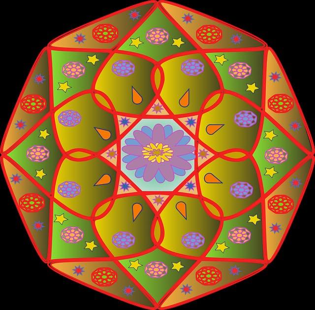 ll Mandala è la porta per vibrare con i tuoi colori