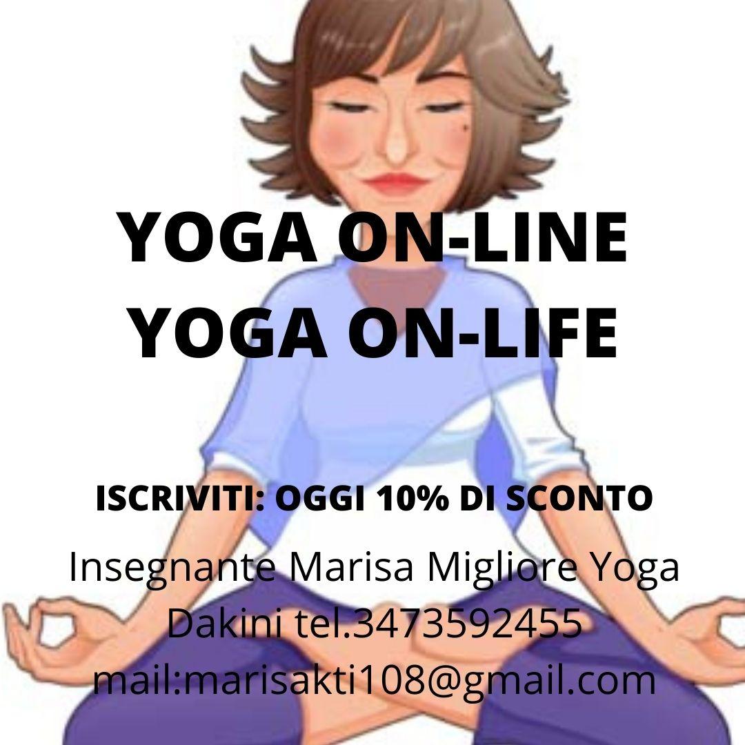 Yoga del risveglio con Marisa Migliore