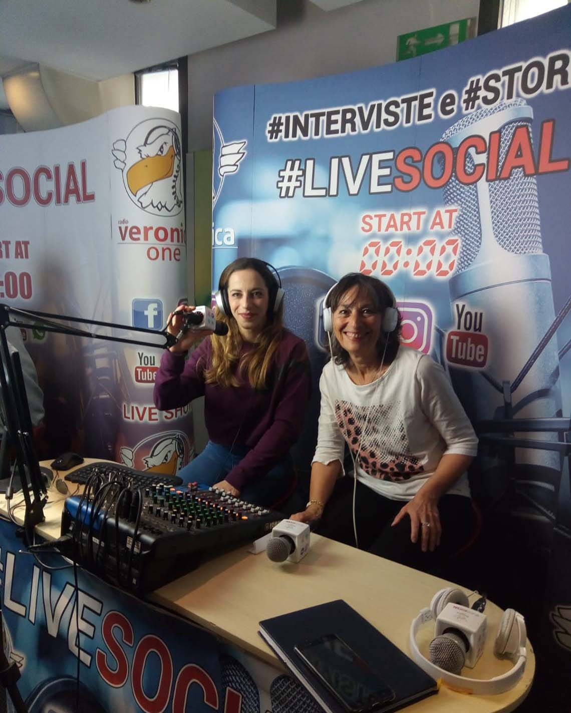 Intervista su Radio Veronica One