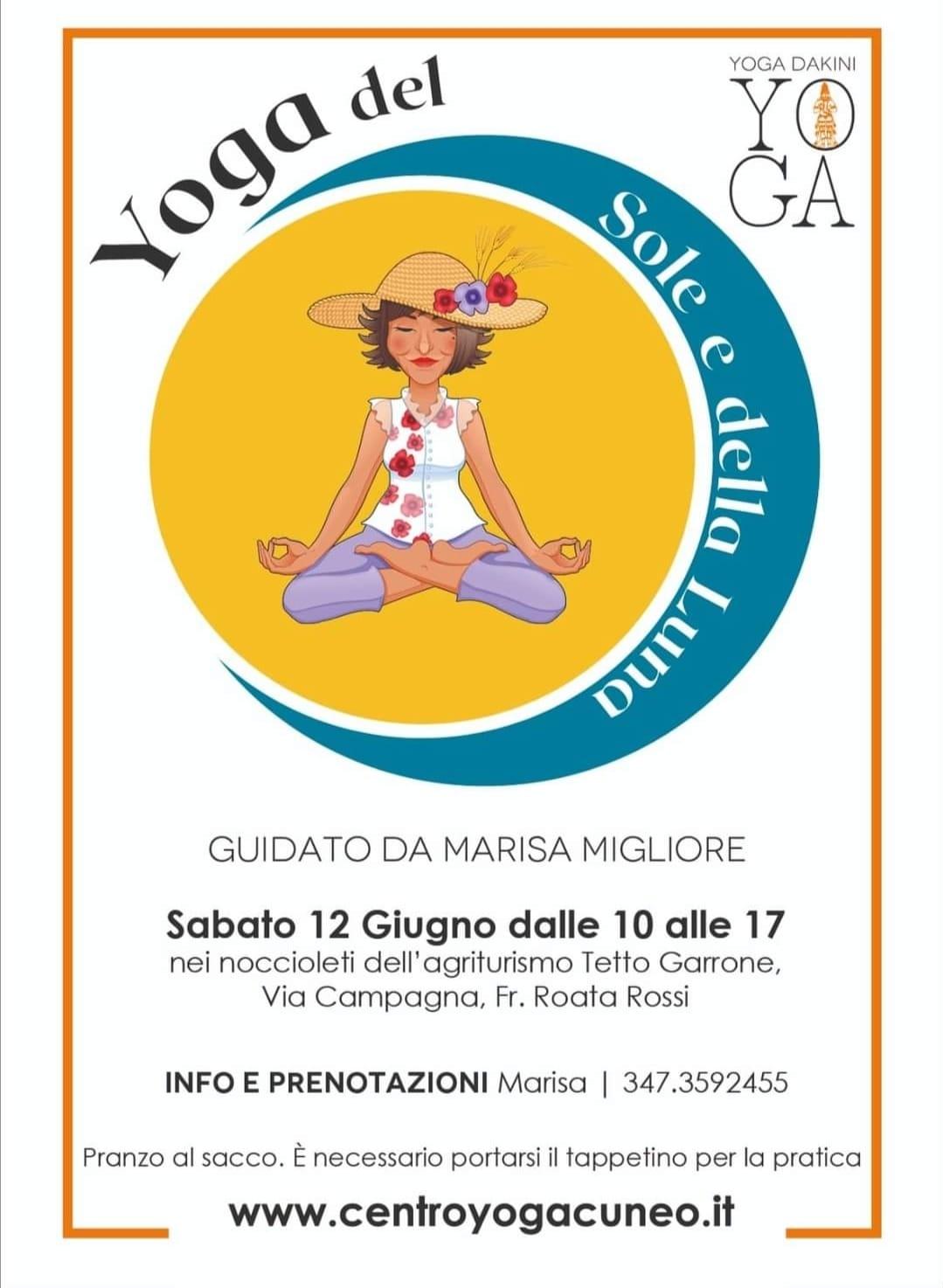 12 giugno 2021 - Yoga del Sole e della Luna