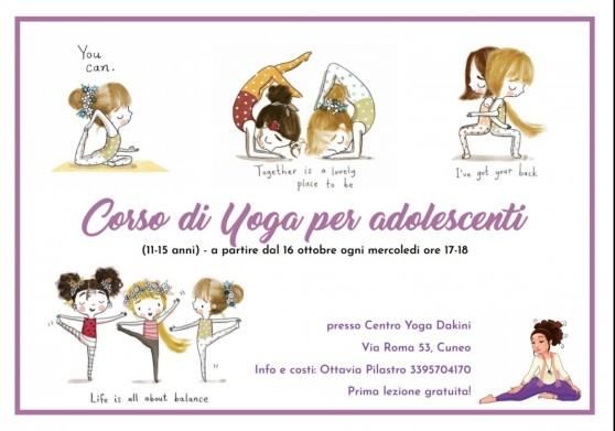 Yoga per Adolescenti (11 - 15 anni)