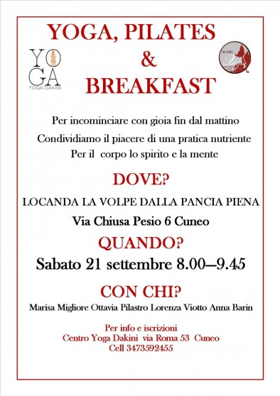 Yoga, Pilates & Breakfast